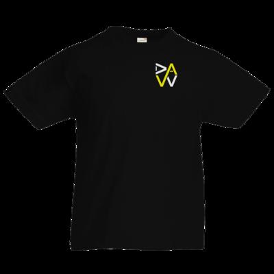 Motiv: Kids T-Shirt Premium FAIR WEAR - DaW-Logo Gelb