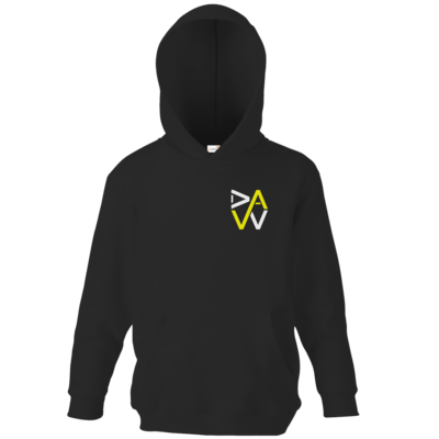 Motiv: Kids Hooded Sweat - DaW-Logo Gelb