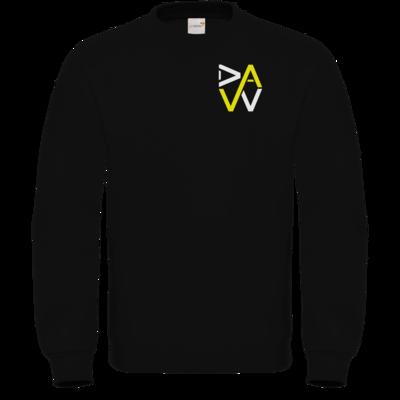 Motiv: Sweatshirt FAIR WEAR - DaW-Logo Gelb