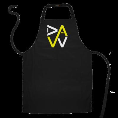 Motiv: Schürze - DaW-Logo Gelb