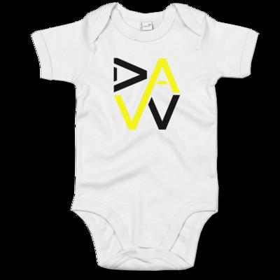 Motiv: Baby Body Organic - DaW-Logo Gelb
