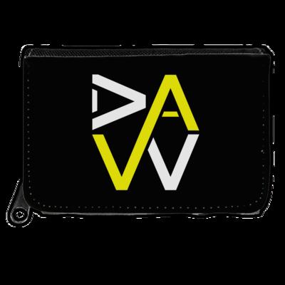 Motiv: Geldboerse - DaW-Logo Gelb