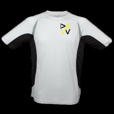 Motiv: Laufshirt Running T - DaW-Logo Gelb
