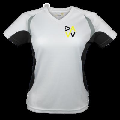 Motiv: Laufshirt Lady Running T - DaW-Logo Gelb
