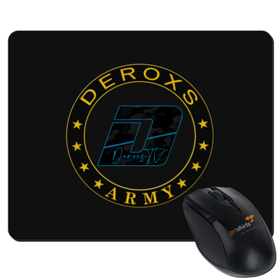 Motiv: Mousepad Textil - Deroxs Army D Logo