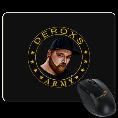 Motiv: Mousepad Textil - Deroxs Army Kreis Porträt