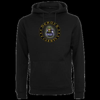 Motiv: Heavy Hoodie - Deroxs Army DeroxsTV Logo Kreis