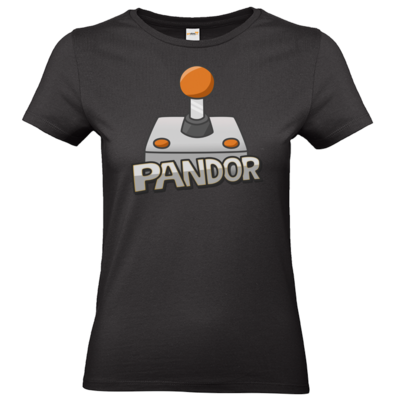 Motiv: T-Shirt Damen Premium FAIR WEAR - Pandor Logo