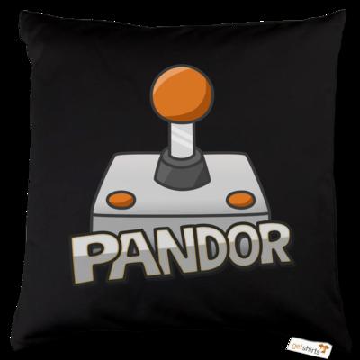 Motiv: Kissen Baumwolle - Pandor Logo