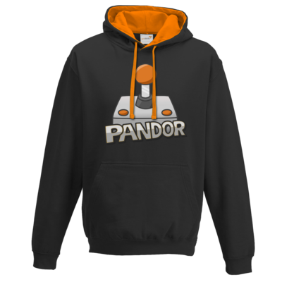 Motiv: Two-Tone Hoodie - Pandor Logo