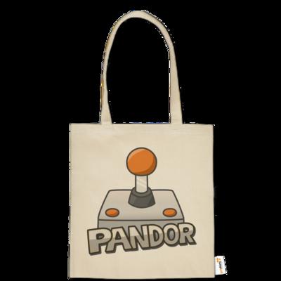 Motiv: Baumwolltasche - Pandor Logo