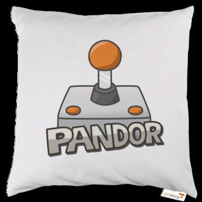 Motiv: Kissen - Pandor Logo