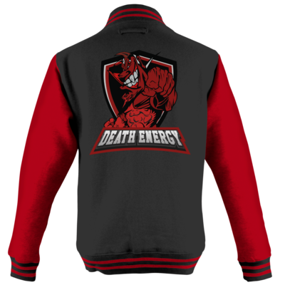 Motiv: College Jacke - DeathEnergy Logo