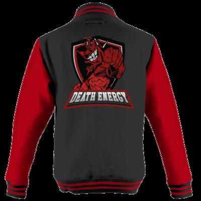 Motiv: College Jacke - DeathEnergy Logo