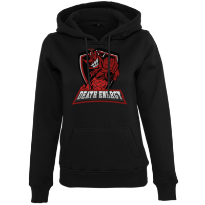 Motiv: Womens Heavy Hoody - DeathEnergy Logo