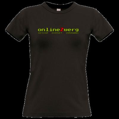 Motiv: T-Shirt Damen Premium FAIR WEAR - Schriftzug