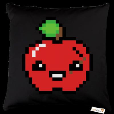 Motiv: Kissen Baumwolle - Pixel Logo