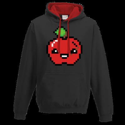 Motiv: Two-Tone Hoodie - Pixel Logo