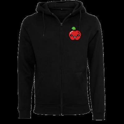 Motiv: Heavy Zip-Hoodie - Pixel Logo