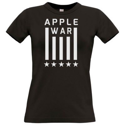 Motiv: T-Shirt Damen Premium FAIR WEAR - Applewar Streifen