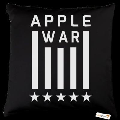 Motiv: Kissen Baumwolle - Applewar Streifen