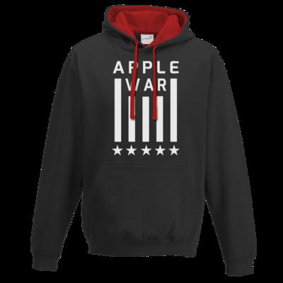 Motiv: Two-Tone Hoodie - Applewar Streifen