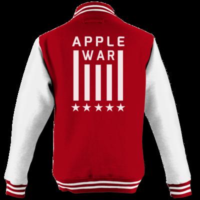 Motiv: College Jacke - Applewar Streifen