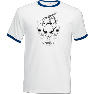 Motiv: T-Shirt Ringer - Unique