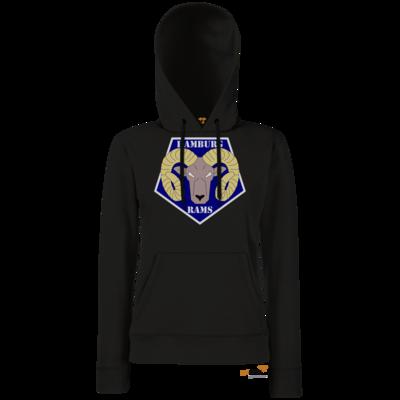 Motiv: Hoodie Damen Classic - Shadowrun - Hamburg Rams
