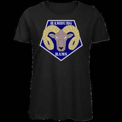 Motiv: Organic Lady T-Shirt - Shadowrun - Hamburg Rams