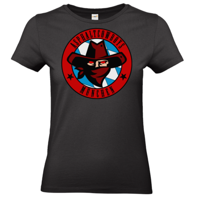 Motiv: T-Shirt Damen Premium FAIR WEAR - Shadowrun - Asphaltcowboys München