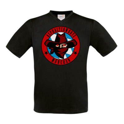 Motiv: T-Shirt V-Neck FAIR WEAR - Shadowrun - Asphaltcowboys München
