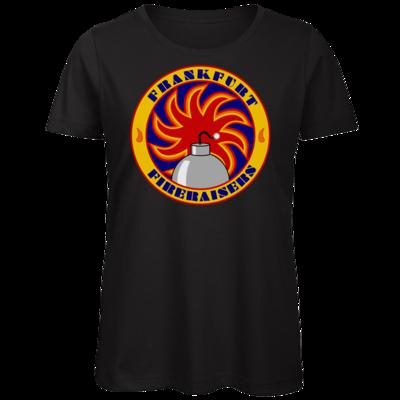 Motiv: Organic Lady T-Shirt - Shadowrun - Frankfurt Fireraisers