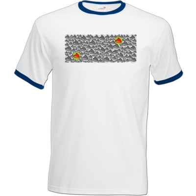 Motiv: T-Shirt Ringer - Chaos Mütze