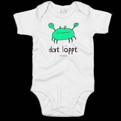 Motiv: Baby Body Organic - dat löppt. gruen