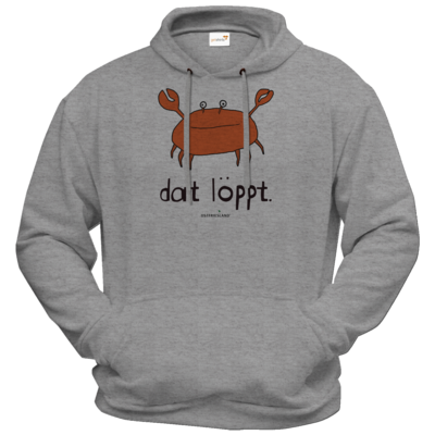 Motiv: Hoodie Premium FAIR WEAR - dat löppt. orange