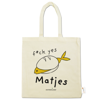 Motiv: Baumwolltasche - f*ck yes Matjes