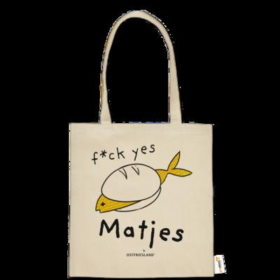Motiv: Baumwolltasche - f*ck yes Matjes