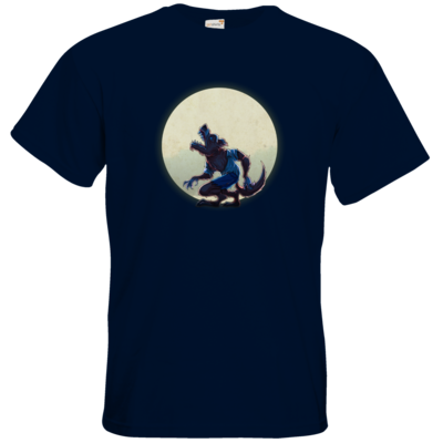 Motiv: T-Shirt Premium FAIR WEAR - Welf - Vollmond