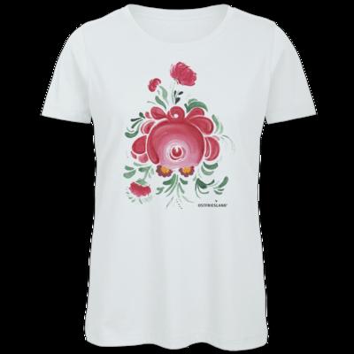 Motiv: Organic Lady T-Shirt - Ostfriesische Teerose