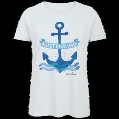 Motiv: Organic Lady T-Shirt - Anker Kuestenkind