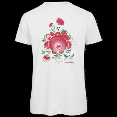 Motiv: Organic T-Shirt - Ostfriesische Teerose