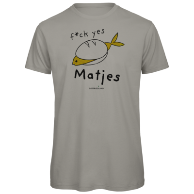 Motiv: Organic T-Shirt - f*ck yes Matjes