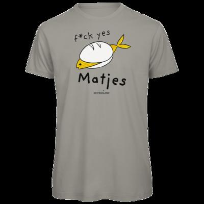 Motiv: Organic T-Shirt - f*ck yes Matjes