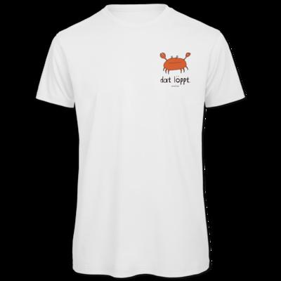Motiv: Organic T-Shirt - dat löppt. orange