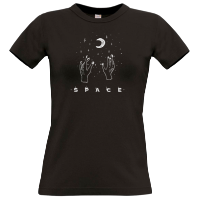 Motiv: T-Shirt Damen Premium FAIR WEAR - Space
