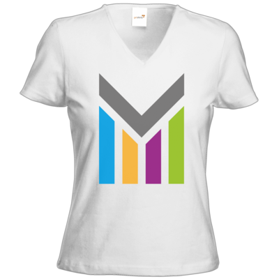 Motiv: T-Shirts Damen V-Neck FAIR WEAR