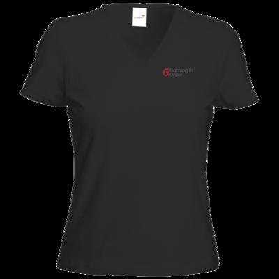 Motiv: T-Shirts Damen V-Neck FAIR WEAR