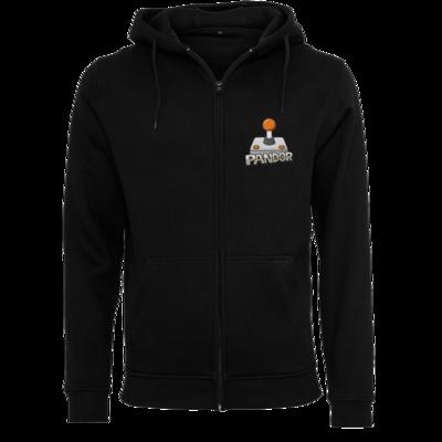 Motiv: Heavy Zip-Hoodie - Pandor Logo