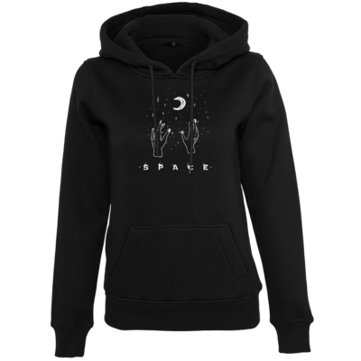Motiv: Womens Heavy Hoody - Space